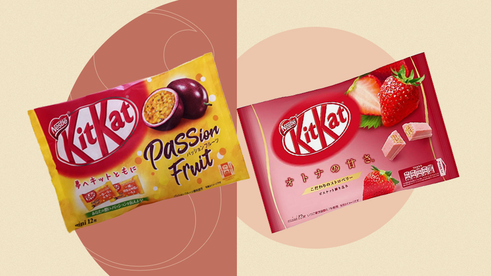 Here's Where You Can Score Japan's Fruity Kitkat Flavors