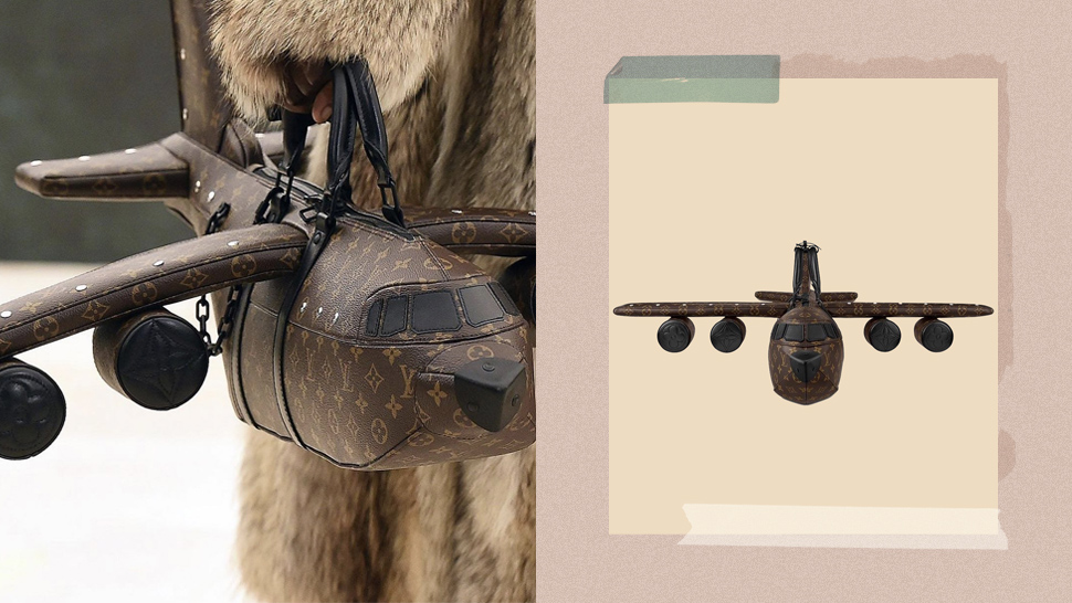 Louis Vuitton Is Selling An Airplane-shaped Bag For A Little Under 2 Million Pesos