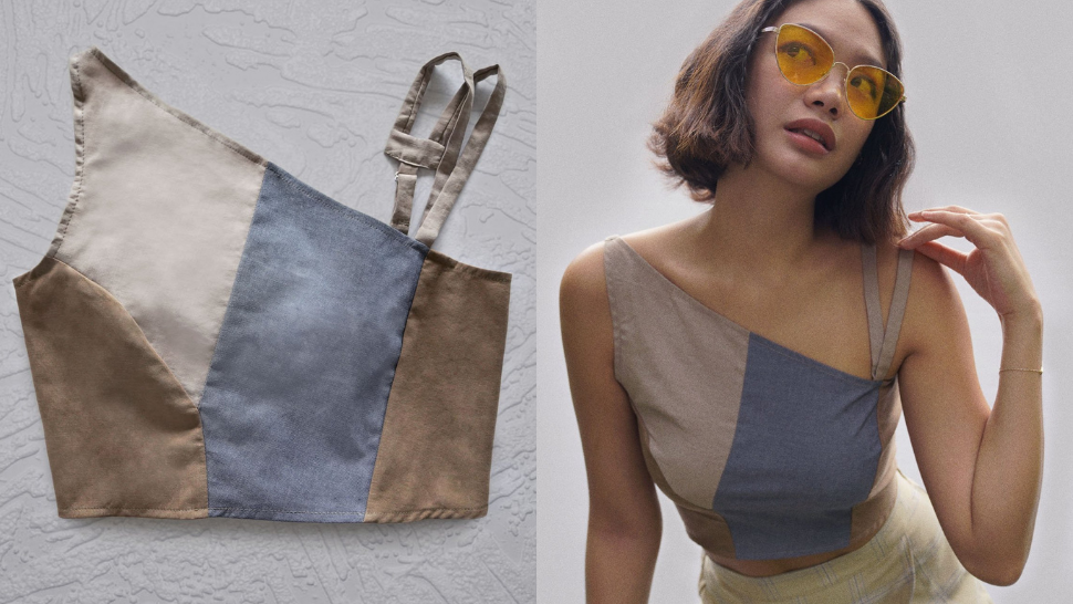 This Local Brand Makes Neutral Crop Tops Out of Leftover Fabric And They're Perfect for Summer