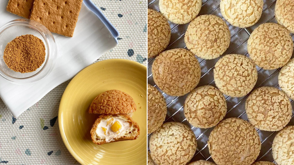 Mango Float Cream Puffs Exist and They Look Oh-So Good!