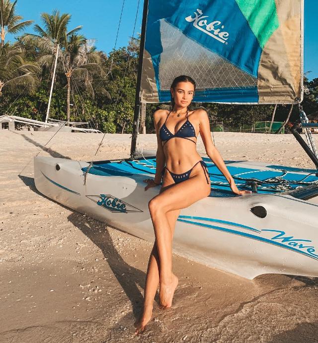 Kelsey Merritt bikini