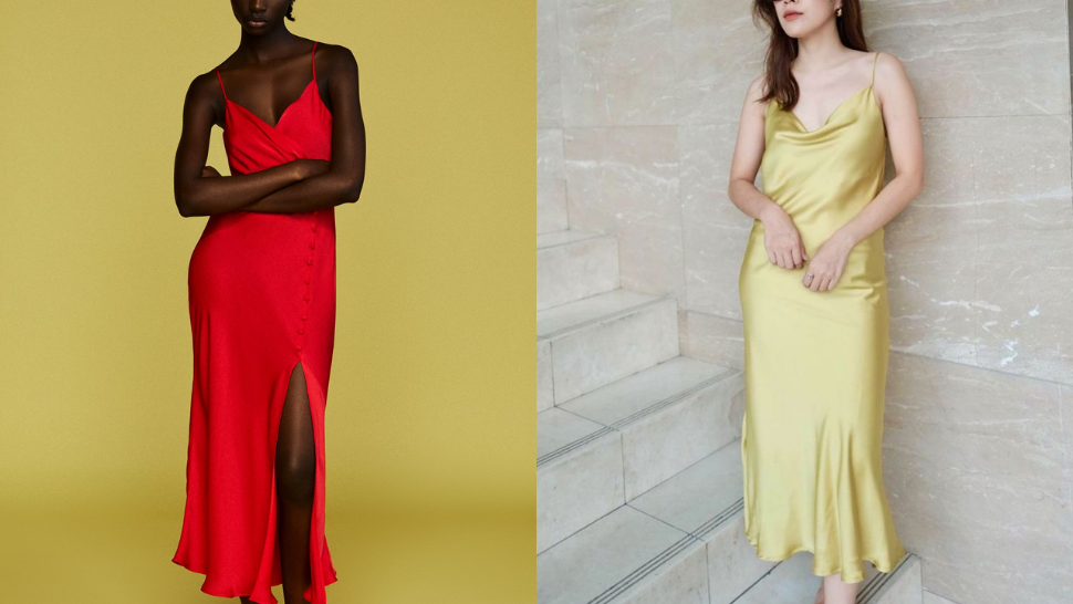 Here's Where You Can Buy Those Chic Satin Dresses You've Been Seeing All Over Pinterest