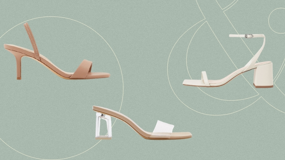 10 Budget-Friendly Minimalist Heels for the Practical Bride