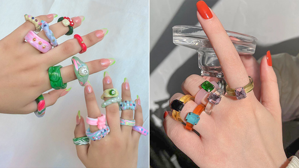 Here's Where You Can Buy Those Cute Chunky Rings You've Been Seeing on Instagram