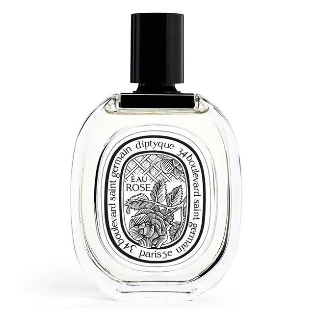 diptyque eau rose skin scent