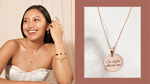This Minimalist Jewelry Collection Will Remind You To Love Yourself More
