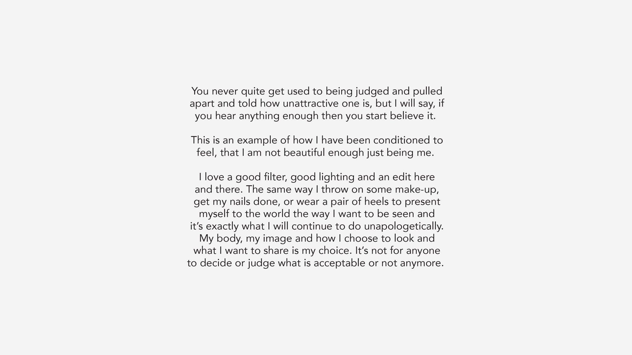 khloe kardashian statement on unedited bikini photo