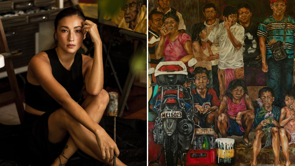 "Solenn Heussaff Says Her Ongoing Exhibit Is Her ""love Song"" To Filipinos"