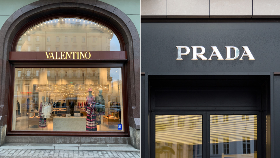 A Massive Fire Destroyed Valentino's Shoe Factory and Prada Immediately Stepped in to Help