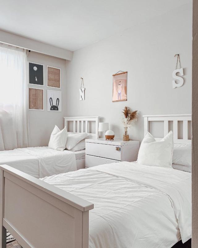 white and bohemian home peg