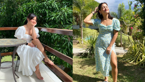 7 Times Camille Prats Made Us Want To Wear Pretty Dresses