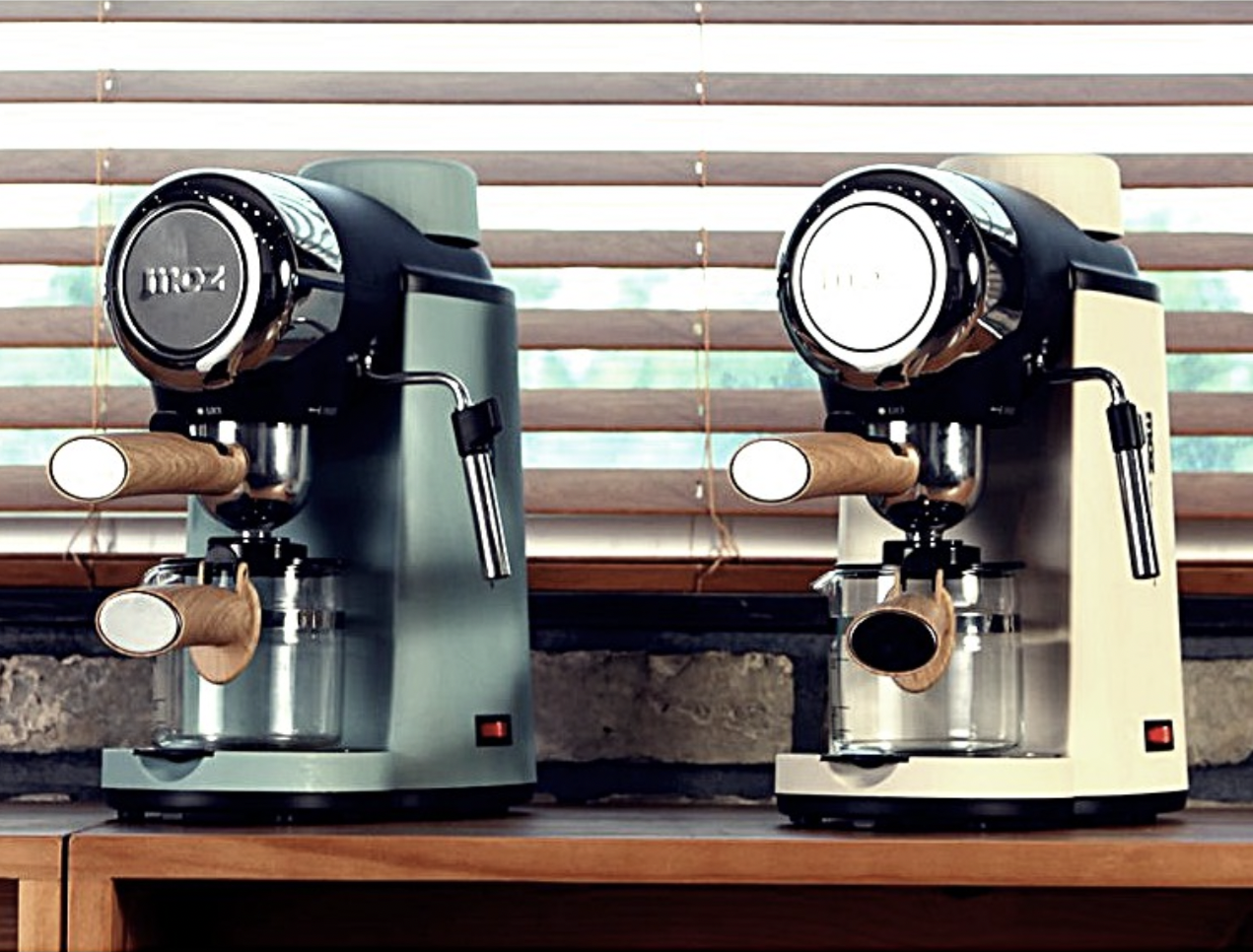 aesthetic and affordable coffee machines