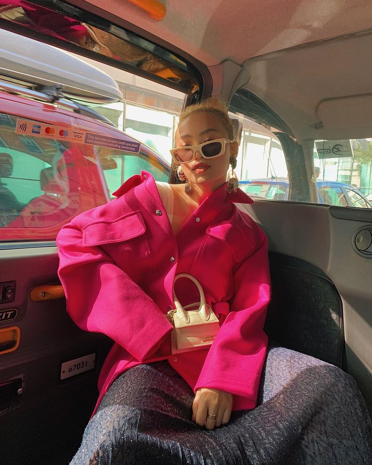 jacquemus le Chiquito bag Renee de guzman