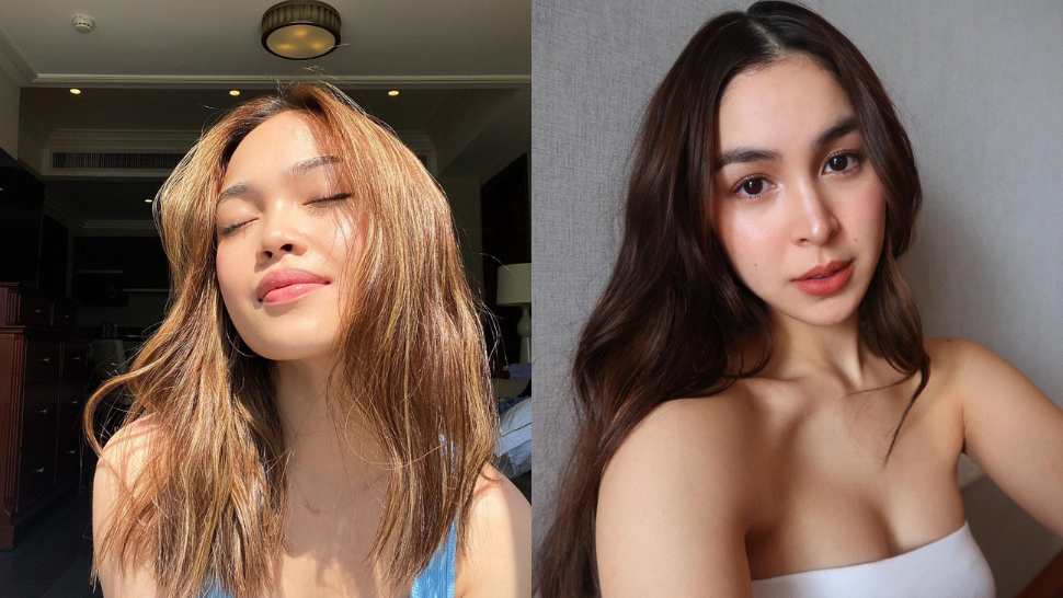 These Local Celebrities Are Seriously Convincing Us to Try Middle Part Hairstyles