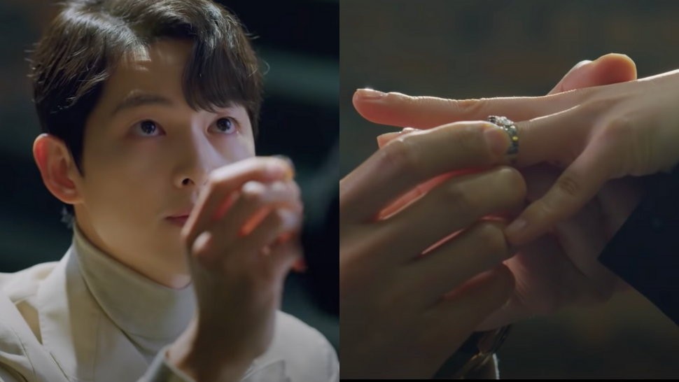 "This Is the Exact Ring Song Joong Ki Used for His Proposal in ""Vincenzo"""