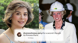 The Internet Thinks Dawn Zulueta Looks A Lot Like Princess Diana Because Of Her New Hair Style