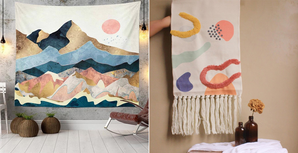 These Pretty Tapestries Will Turn Any Room Into An Aesthetic Space