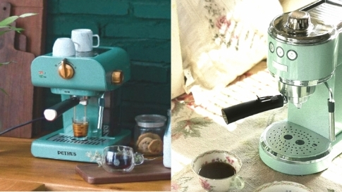 10 Aesthetic And Affordable Coffee Machines You Can Add To Your Nook