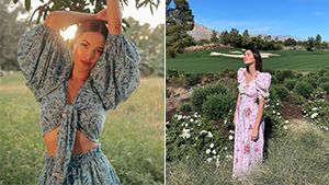 The Exact Floral Printed Dresses Celebs Are Wearing On Instagram