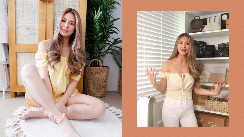 Sam Pinto's Minimalist and Tropical-Inspired Closet Is Every Beach Girl's Dream