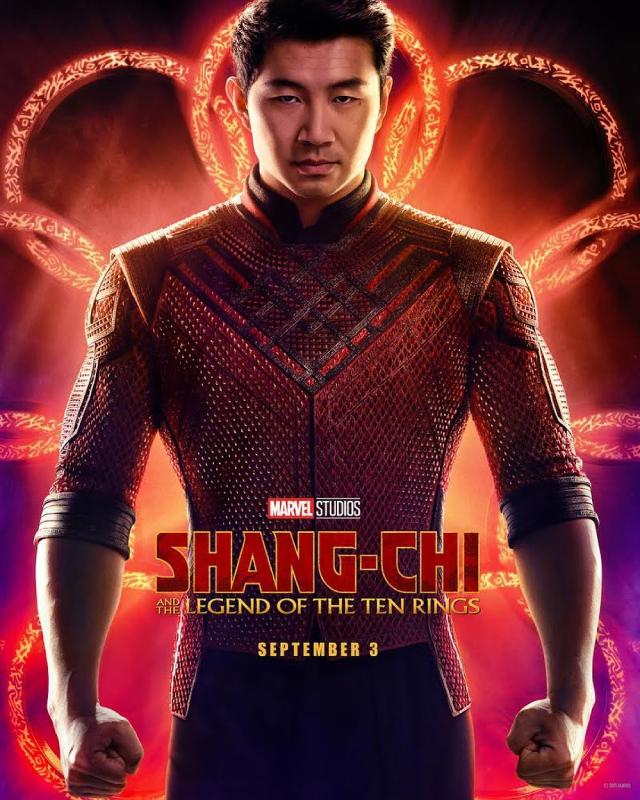 Shang Chi movie poster
