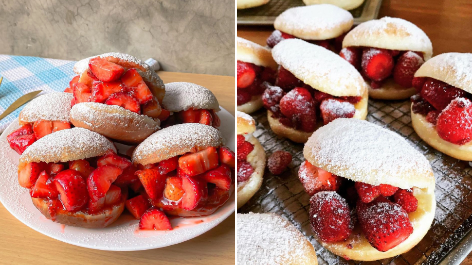 5 Places To Buy Strawberry Doughnut Sandwiches