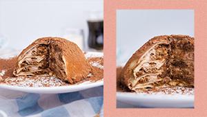 This Tiramisu Crepe Cake Will Satisfy Your Dessert Cravings