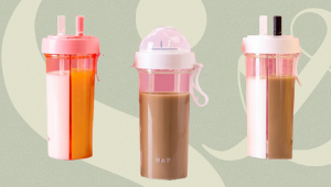 This Minimalist Tumbler Can Store Two Different Drinks And It Costs Only P199