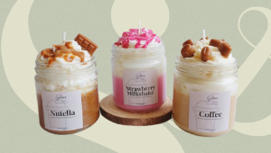 These Candles Look And Smell Like Your Favorite Sweet Milky Drinks