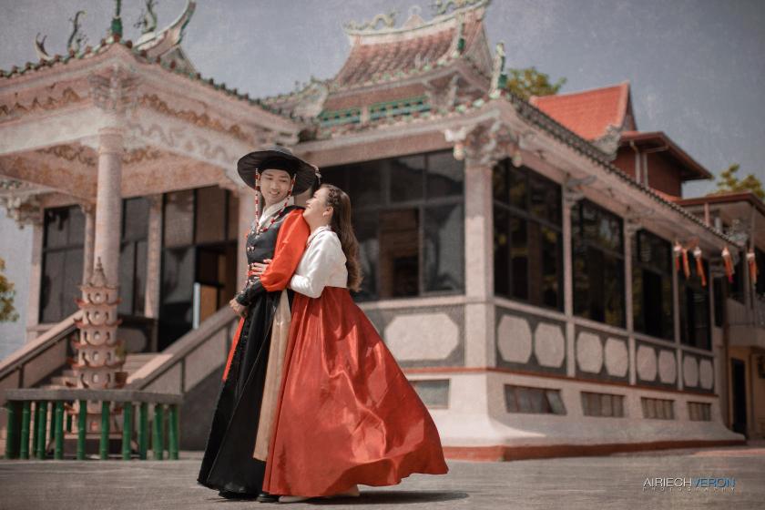 K-drama themed prenup Jumong