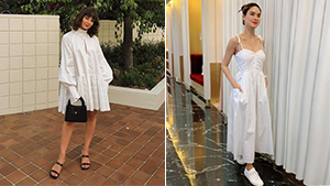 10 Simple White Dress Outfit Combinations That Never Go Out Of Style
