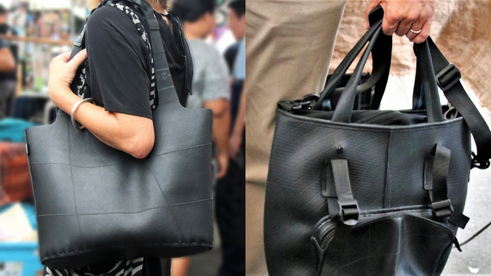 Here's How This Local Brand Turns Old Tires Into Waterproof Bags