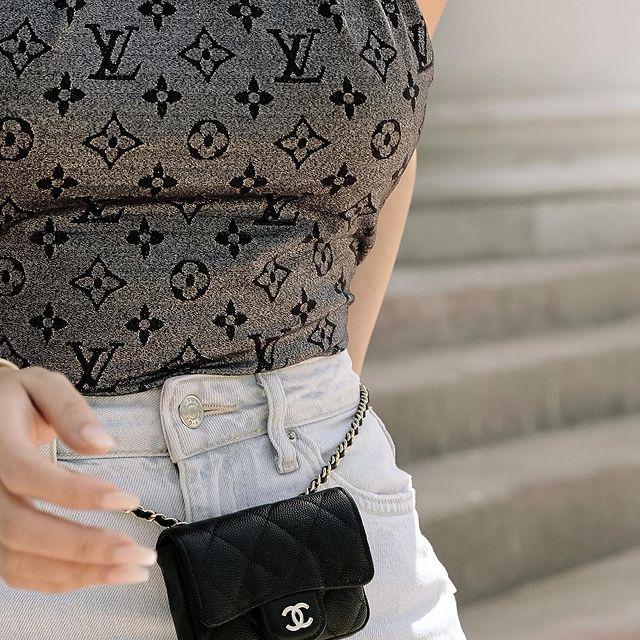 Heart Evangelista designer outfit