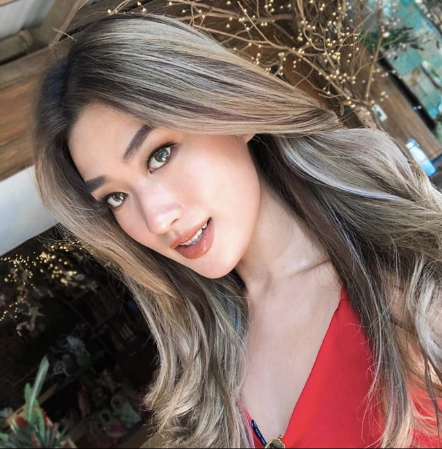 balayage hair janeena chan