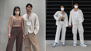 We Love David Guison And Angelique Manto's Minimalist And Aesthetic Couple Ootds