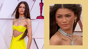 Whoa! Zendaya Wore Over P290 Million Worth Of Jewelry To The Oscars