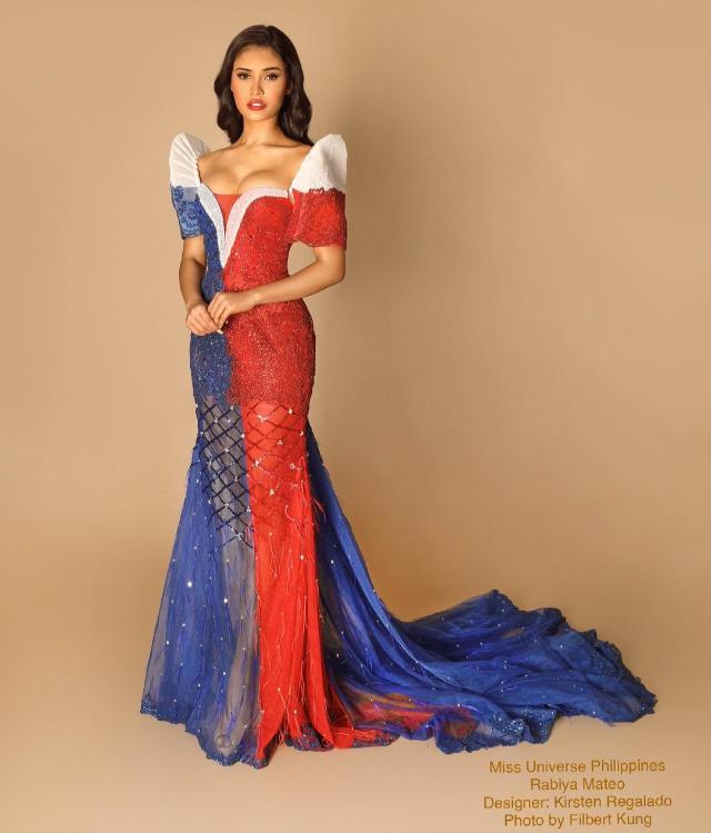rabiya mateo sunrise gown