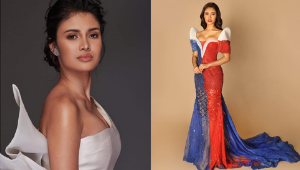 All The Details Of Rabiya Mateo's Stunning Philippine Flag-inspired Gown