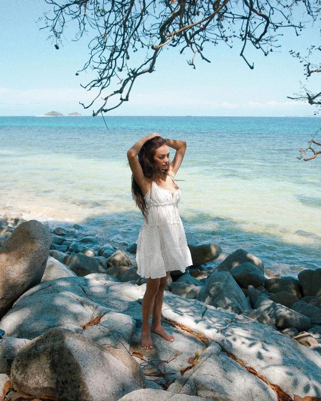 strappy white dress ootd kylie verzosa