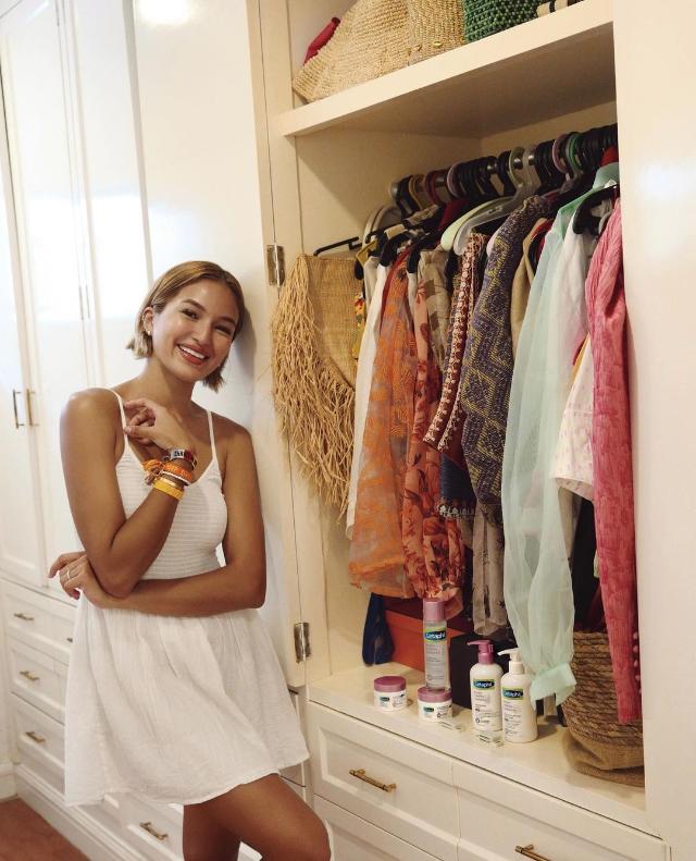 strappy white dress ootd sarah lahbati