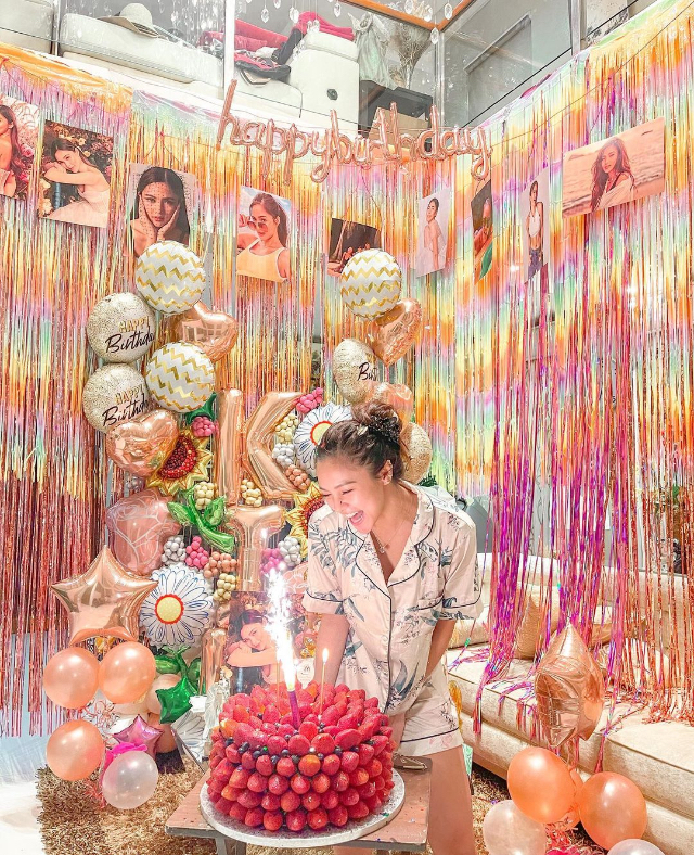 kim chiu's birthday cake