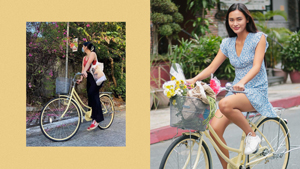 This Chic, Vintage-looking Bike Is Giving Us Major K-drama Vibes