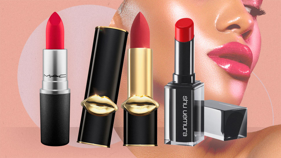 The Best Red Lipsticks For Morenas, According To Makeup Artists