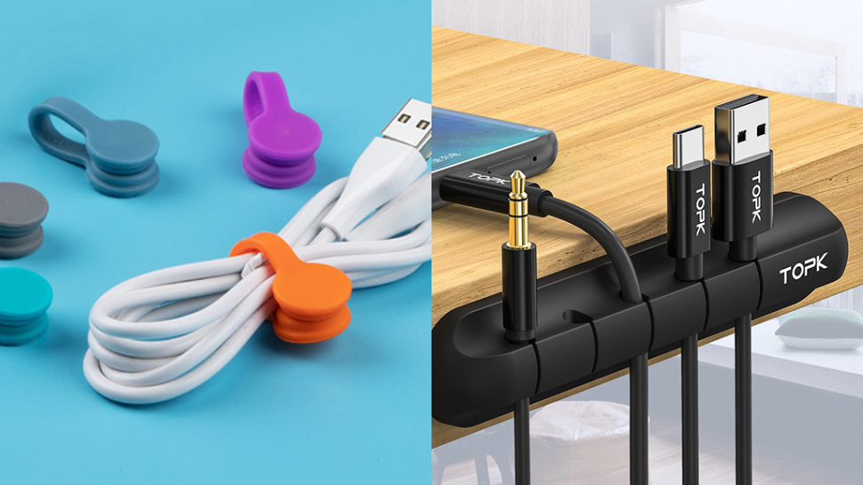 Say Goodbye To Cluttered Cables With These Handy Wire Organizers