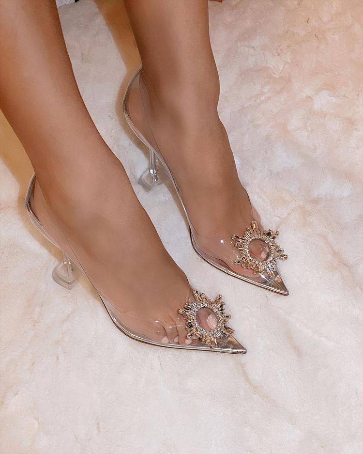 what are Amina Muaddi shoes