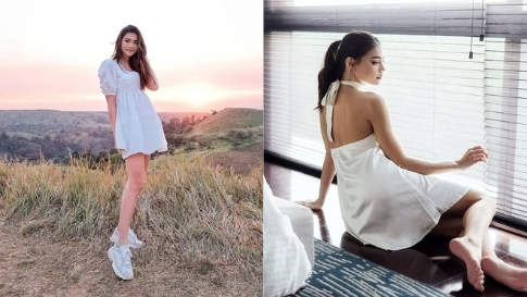 Rhian Ramos Is Proof That White Outfits Will Always Look Fresh No Matter What