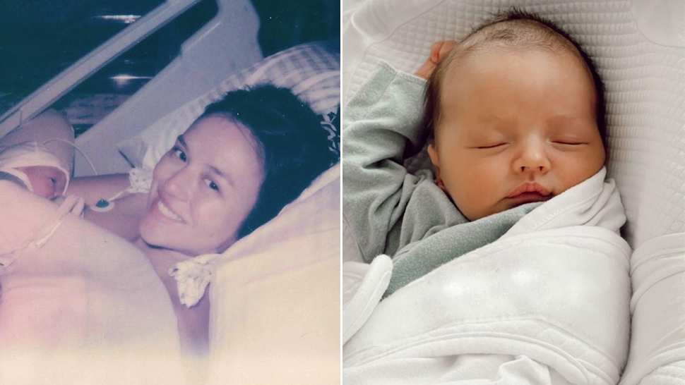 Georgina Wilson Just Gave Birth and Shared First Photos of Her Baby Girl