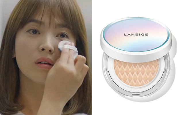song hye yo descendants of the sun laneige makeup