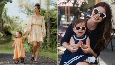 12 Stylish Twinning Ootds, As Seen On Celebrity Moms And Their Kids
