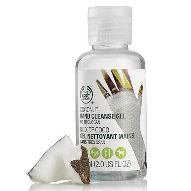 the body shop hand sanitizer